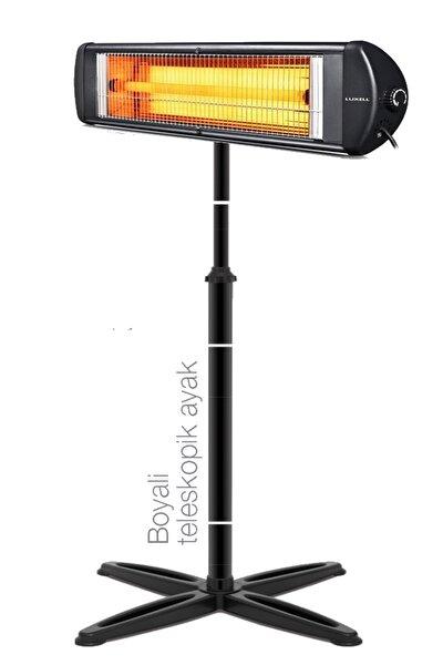Luxell Blackline Infrared Elektrikli Soba Isıtıcı