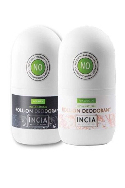 Doğal Roll-on Deodorant Set