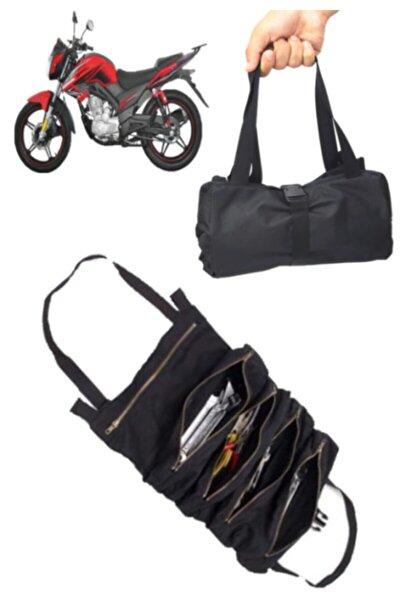 Motosiklet Takım Eşya Taşıma Çantası Askı Kayışlı Ns368