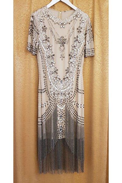 Kadın Kemik Tasarım Elbise