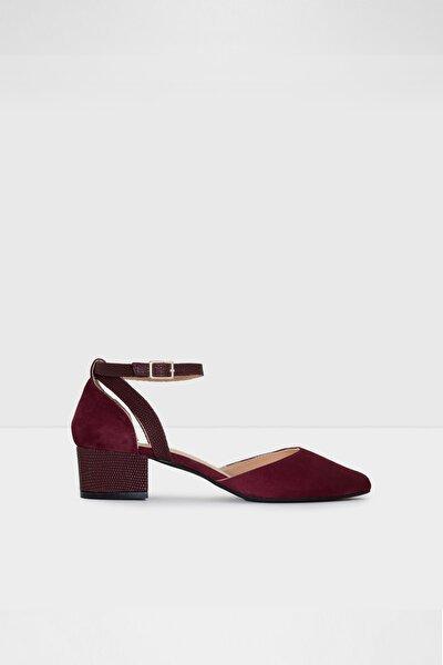 Kadın  Bordo Topuklu Ayakkabı