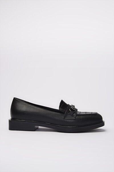 Siyah  Loafer Ayakkabı 01AYY197580A100
