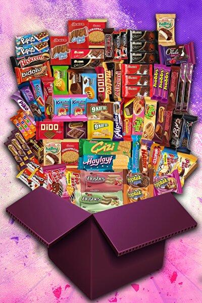 Karma Jumbo Çikolata Kek Paketi - 76 Parça