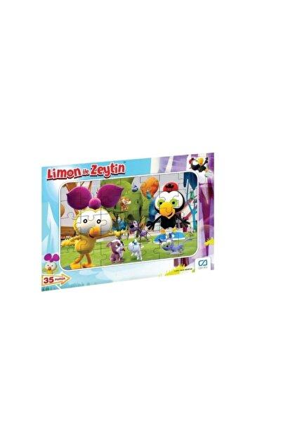 Limon Ile Zeytin 35 Parça Frame Puzzle S1