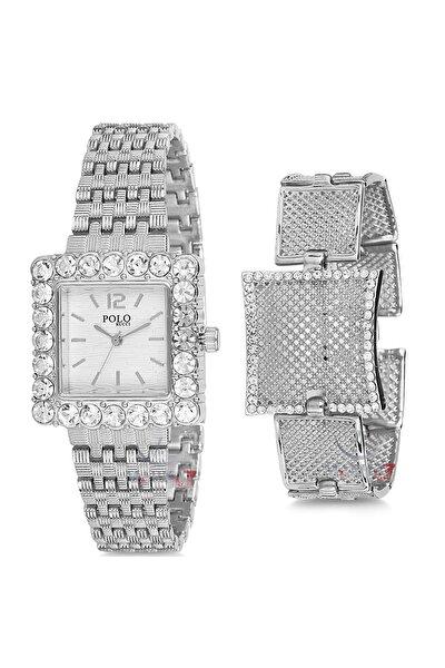 Kadın Kol Saati Ve Bileklik Hediyeli