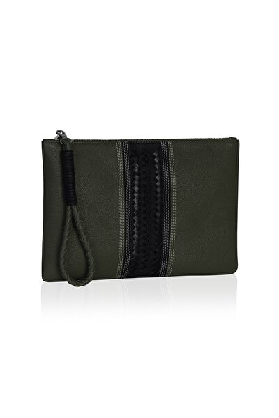 Kadın Yeşil Clutch Çanta