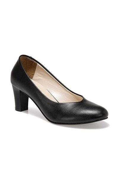 316115CZ Siyah Kadın Topuklu Ayakkabı 100567661