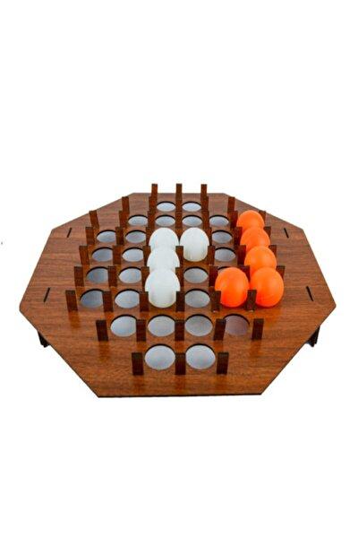 Ahşap Pinponi Oyunu Pinpon Topu Zıplatma Oyunu Stres At Oyunu