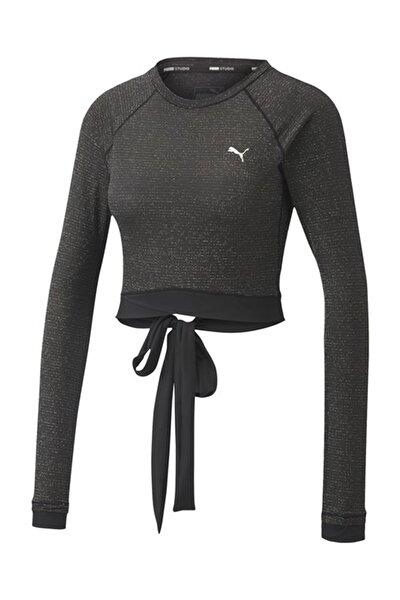 Kadın Spor Sweatshirt - Studio Metallic LS - 51951501