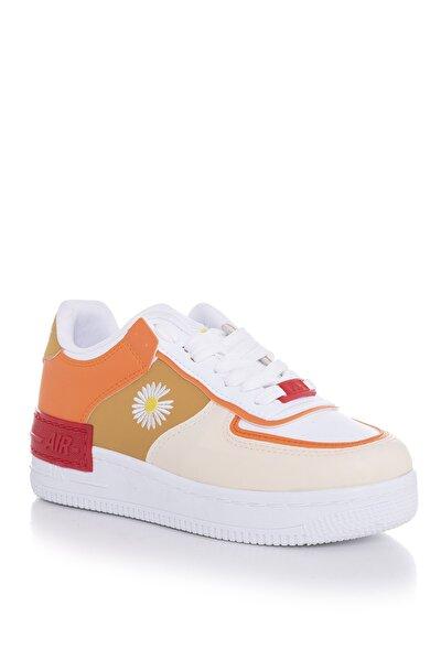 Bej Unisex Spor Ayakkabı Tbshw