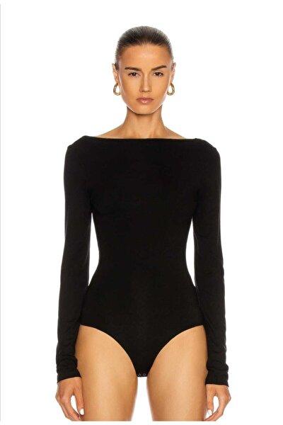 Kadın  Uzun Kollu Bodysuit