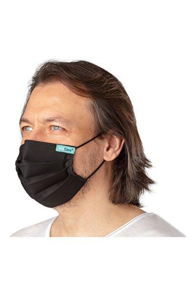 Unisex Siyah Antiviral Maske Konfor Modeli Yetişkin Çocuk Bebek Maskesi ve Maske Boyun Askısı