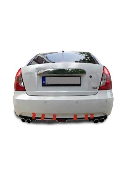 Hyundai Accent Era Uyumlu Arka Tampon Eki Difüzör Bodykit
