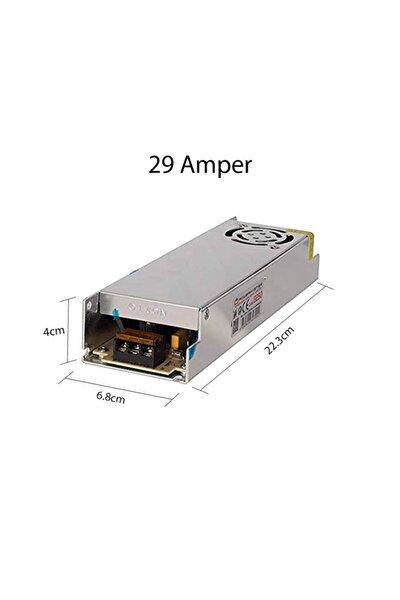 Slim Led Trafo 12 Volt Metal Kasa 29 Amper