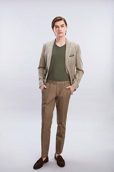 Erkek Bej Chıno Pantolon