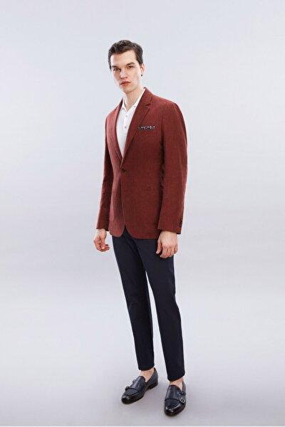 Erkek Lacivert Chıno Pantolon
