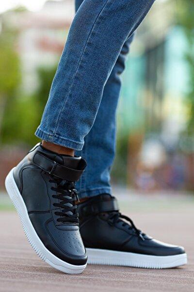 Unısex Siyah Sneaker Ayakkabı Svt12