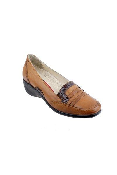 152027 Deri Ortopedi Bayan Ayakkabı