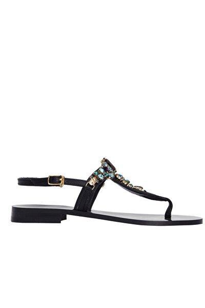 Kadın Siyah Sandalet 5024230