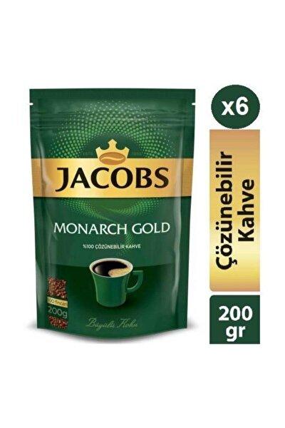 Monarch Gold 200g * 6 Adet Ekopaket Hazır Kahve