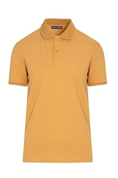 Hardal Polo Yaka Tişört