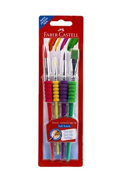 Faber-castell Fırça Seti Soft Touch 4 Lü 5291181620000