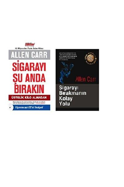 Sigarayı Şu Anda Bırakın Sigarayı Bırakmanın Kolay Yolu Set 2 Kitap