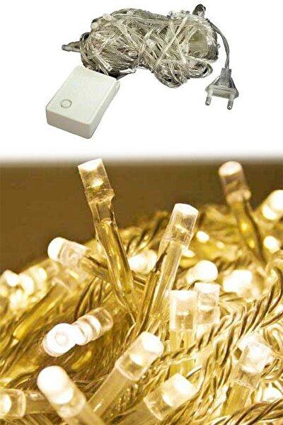 100 Ledli Fişli Led, Dekor Lambası 10m Günışığı Yılbaşı Ağacı Işığı