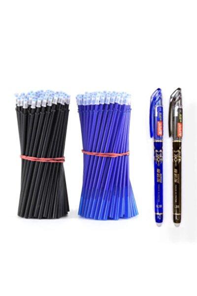 Isı Ile Uçan Refil Kalem Içi Siyah-mavi Set 50 Adet