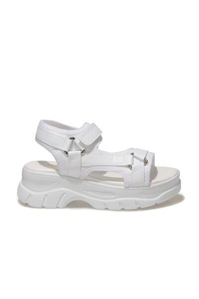 20S-4921FX Beyaz Kadın Sandalet 101029646