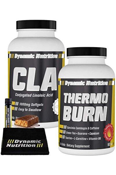 Dynamic CLA 90 Kapsül + Thermo Burn 60 Tablet + 3 HEDİYE