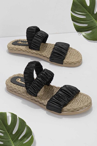 Siyah Kadın Sandalet K05682020167