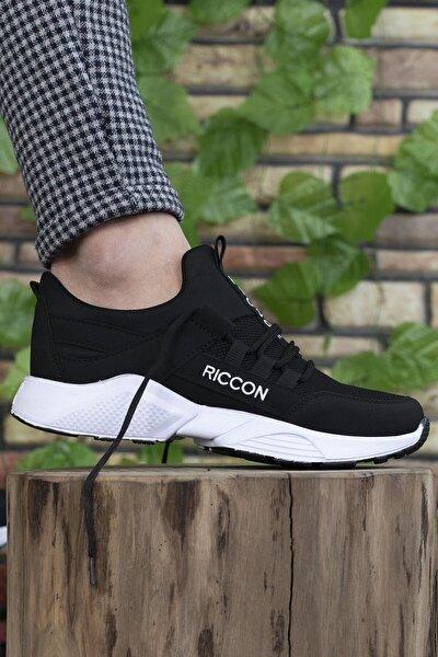 Unisex Siyah Beyaz  Sneaker