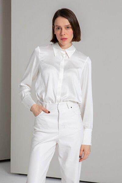 Ipek Audrey Rahat Kesim Uzun Kollu Gömlek