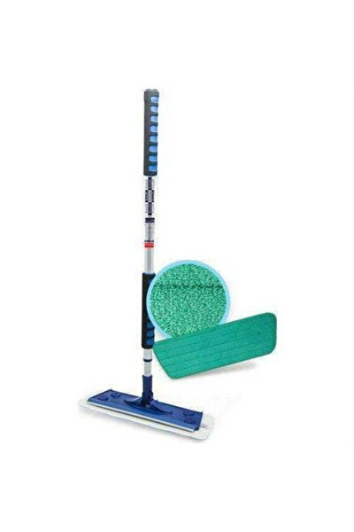 Islak Bezli Mop Set ( Mop Bez Mop Ağzı Ve Mop Sopasından Oluşur Set)