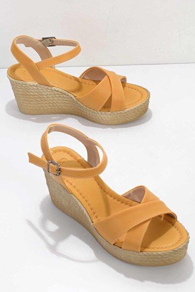 Hardal Kadın Sandalet K05936021109