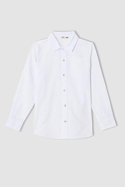 Erkek Çocuk Regular Fit Uzun Kollu Gömlek T8854A621AU