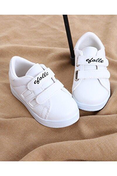Çocuk Unisex Beyaz Günlük Spor Ayakkabı