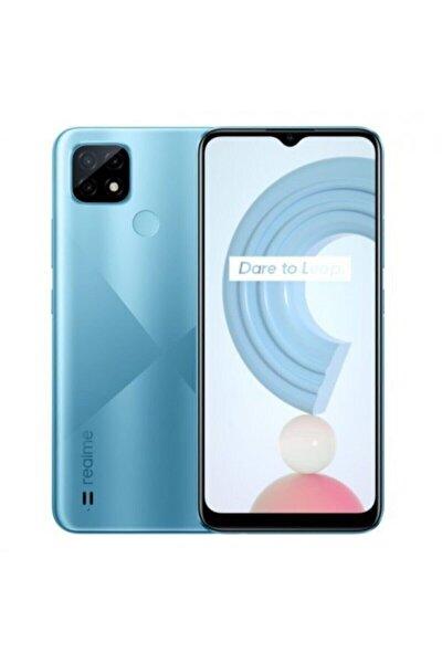 Realme C21 64GB Mavi Cep Telefonu (Realme Türkiye Garantili)