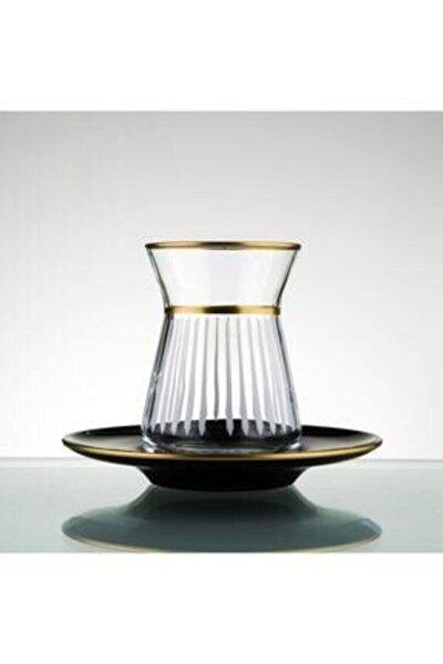 El Yapımı 12 Parça 6 Kişilik Çay Seti