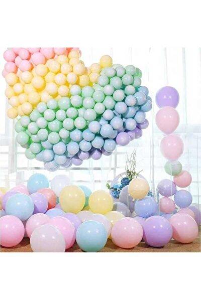 Makaron Balon Seti 50 Balon Karışık
