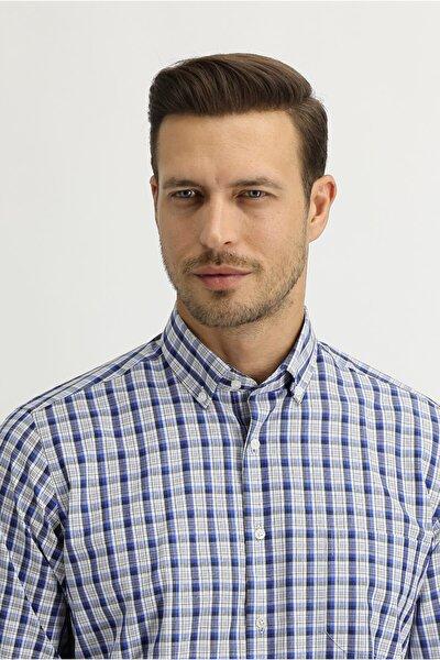 Uzun Kol Regular Fit Ekose Gömlek