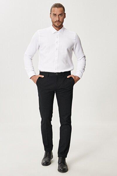 Slim Fit Dar Kesim Yan Cep Casual Pantolon