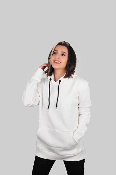 Unisex 3 Iplik Kapşonlu Sweatshirt