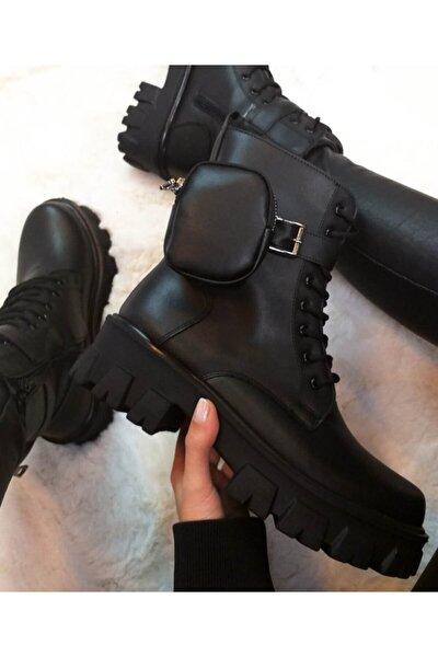 Çantalı Çizme Casual Bot