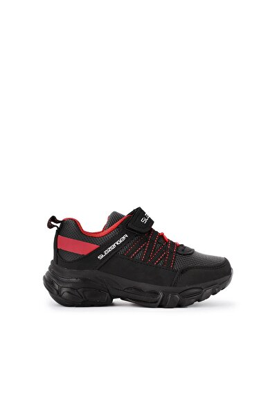 OVVA Spor Çocuk Ayakkabı Siyah SA20LF036