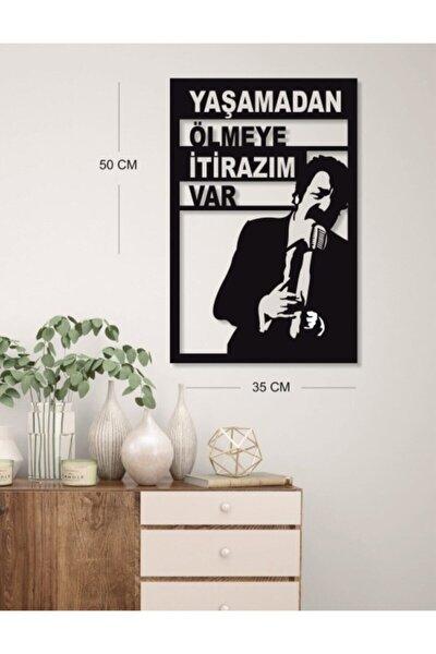 Müslüm Gürses Tablo Itirazım Var - Dekoratif Duvar Tablo