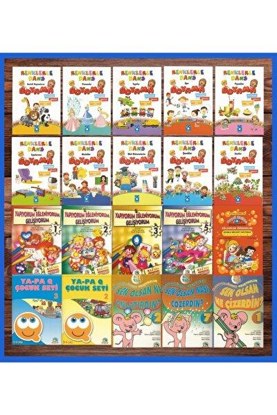 5 - 6 Yaş - 20 Kitap Okul Öncesi Karma Eğitim Seti 568 Sayfa