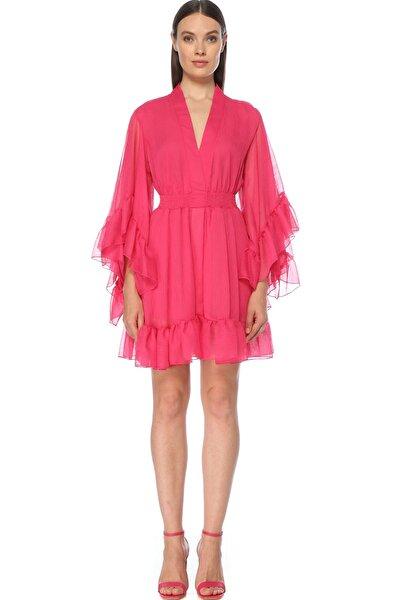 Kadın Fuşya Elbise 1075571
