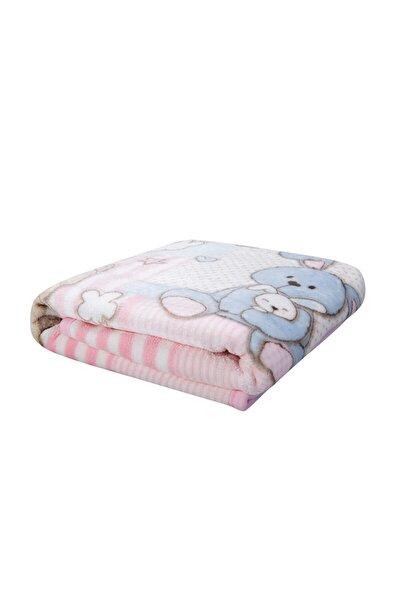 Honey Bunny Pembe Bebek Soft Ispanyol Battaniye